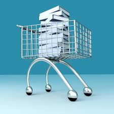 books-in-shopping-trolley