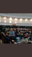 Self-publishing panel discussion - I learnt so much.